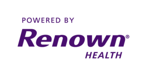 Powered by Renown Health Logo